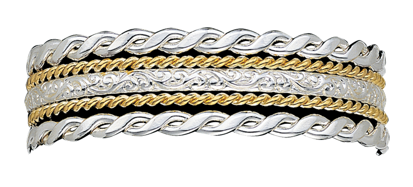 Montana Silversmiths Twisted Rope 5 Strand Bracelet