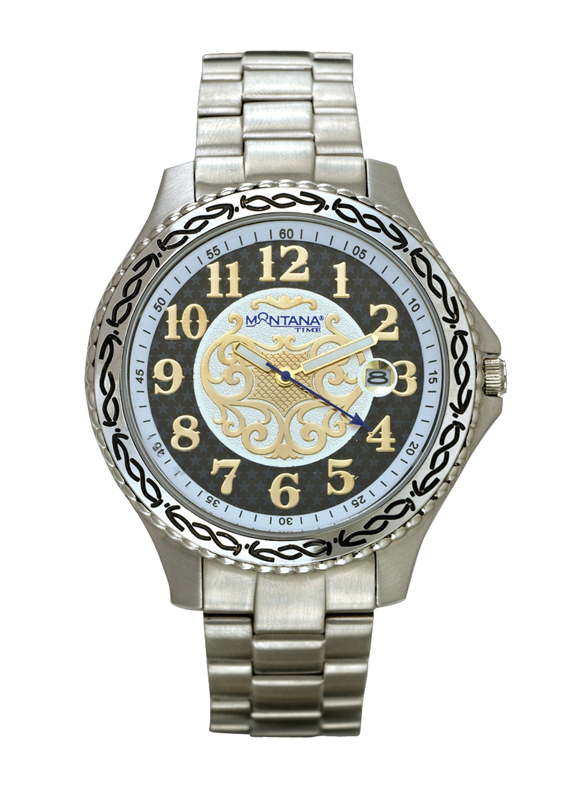 Montana Silversmiths Master Timekeeper Bracelet Watch