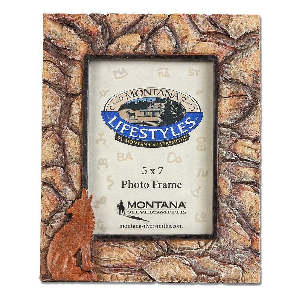 Montana Silversmiths Coyote Stone Photo Frame