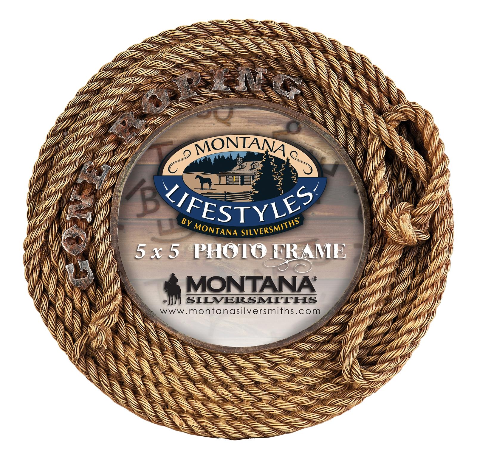 Montana Silversmiths Gone Roping Photo Frame