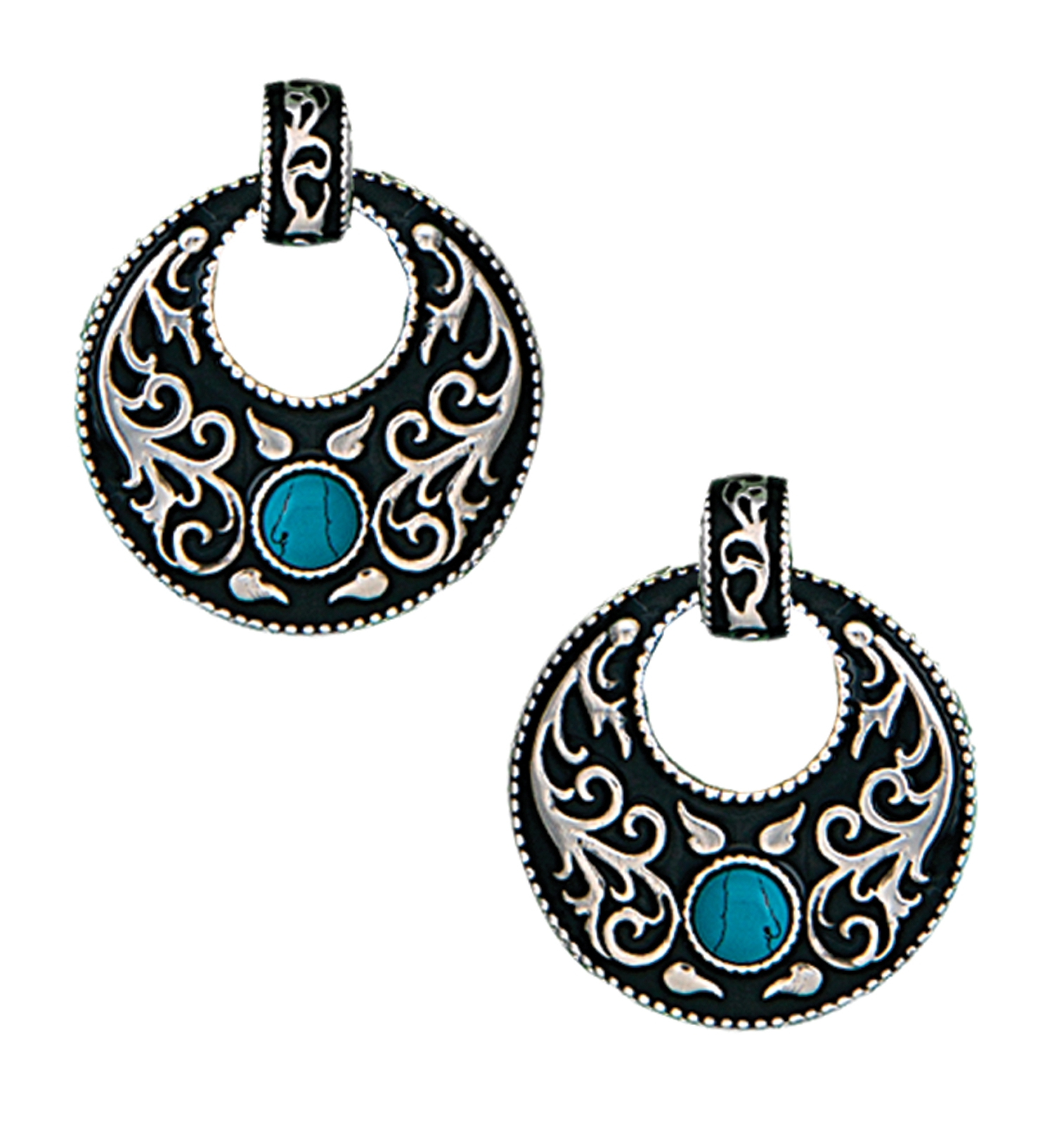 Montana Silversmiths Turquoise Garden Earrings