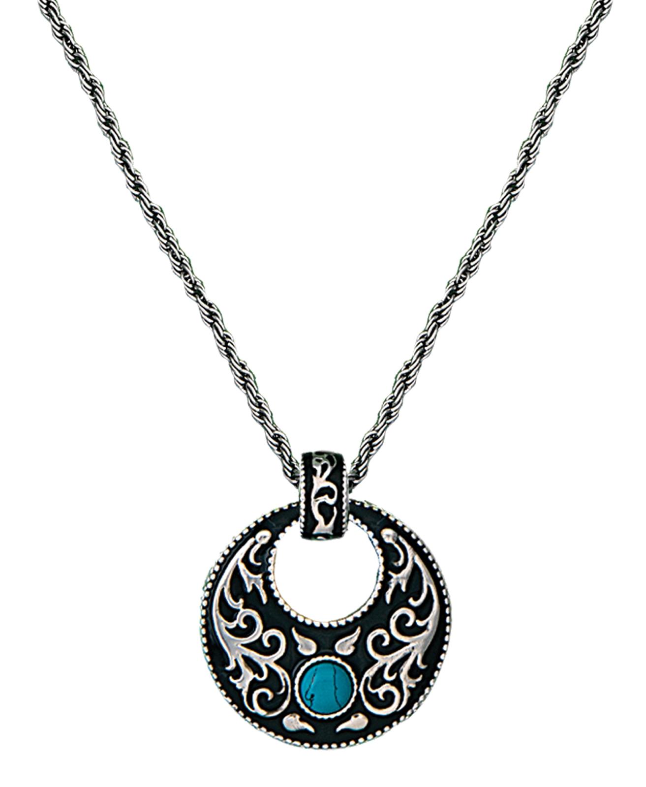 Montana Silversmiths Turquoise Garden Necklace
