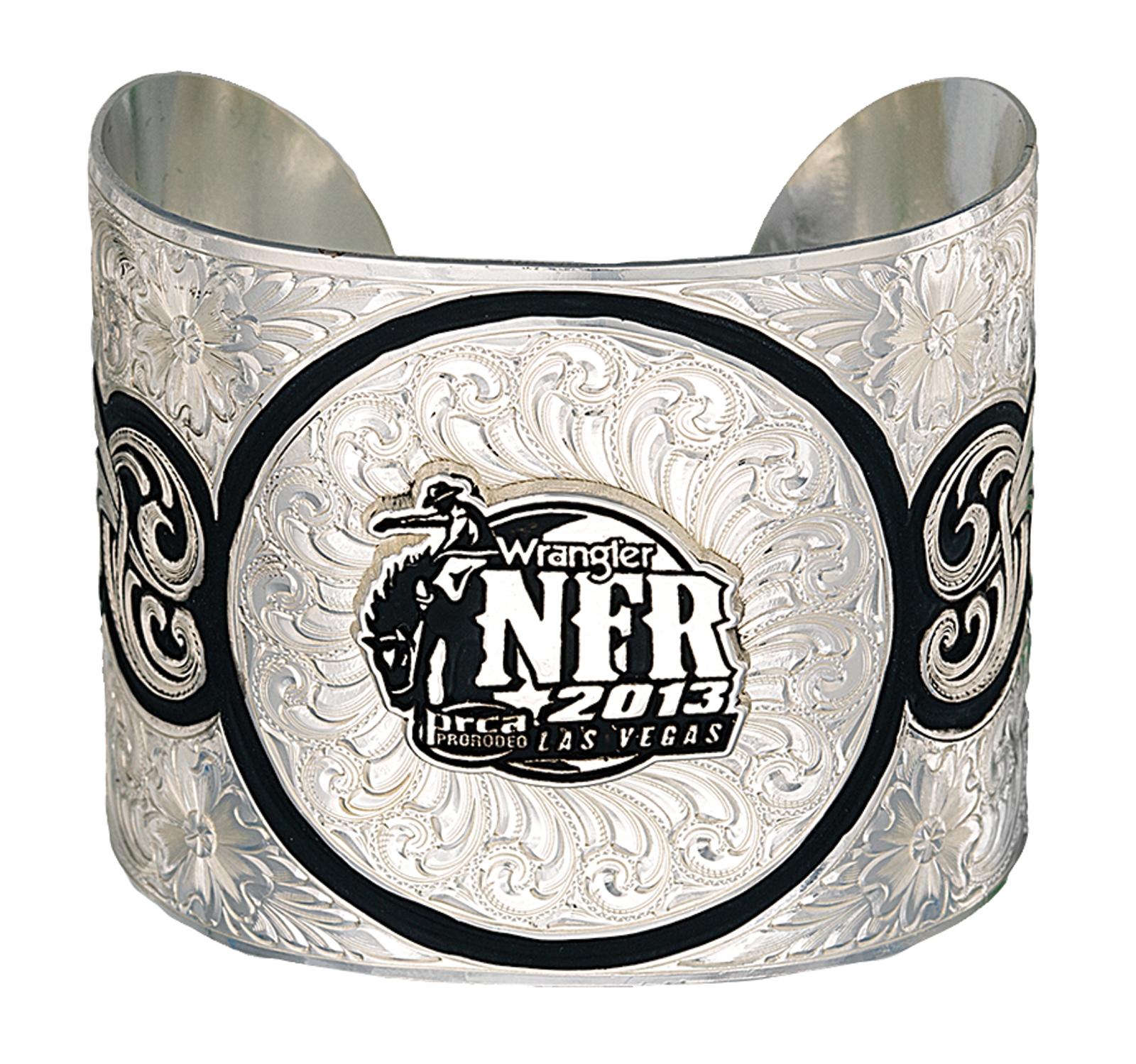 Montana Silversmiths 2013 WNFR Wide Cuff Bracelet