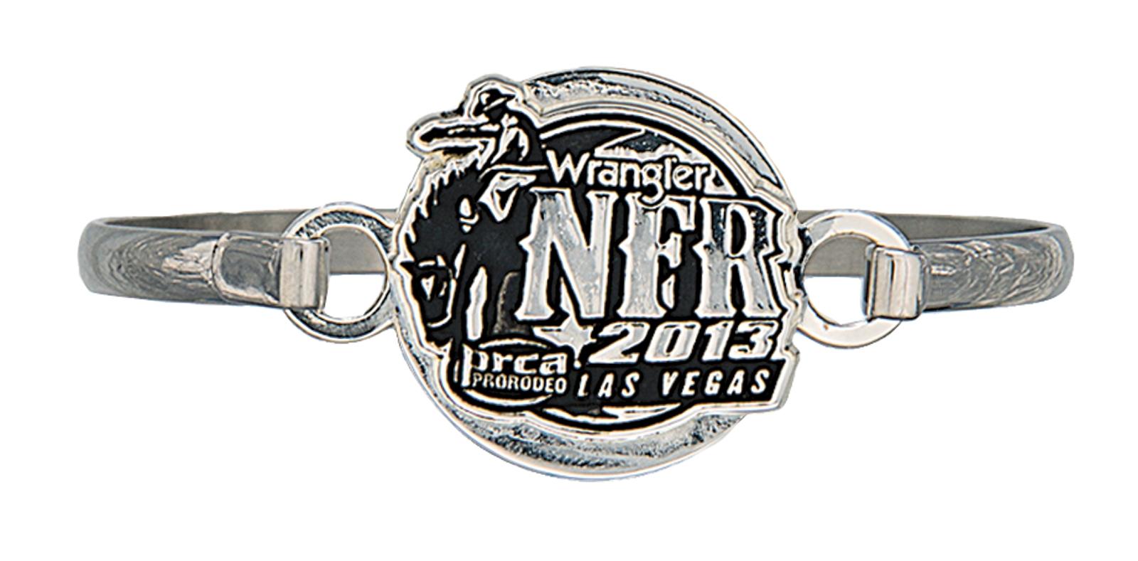 Montana Silversmiths 2013 WNFR Silver Cameo Bracelet