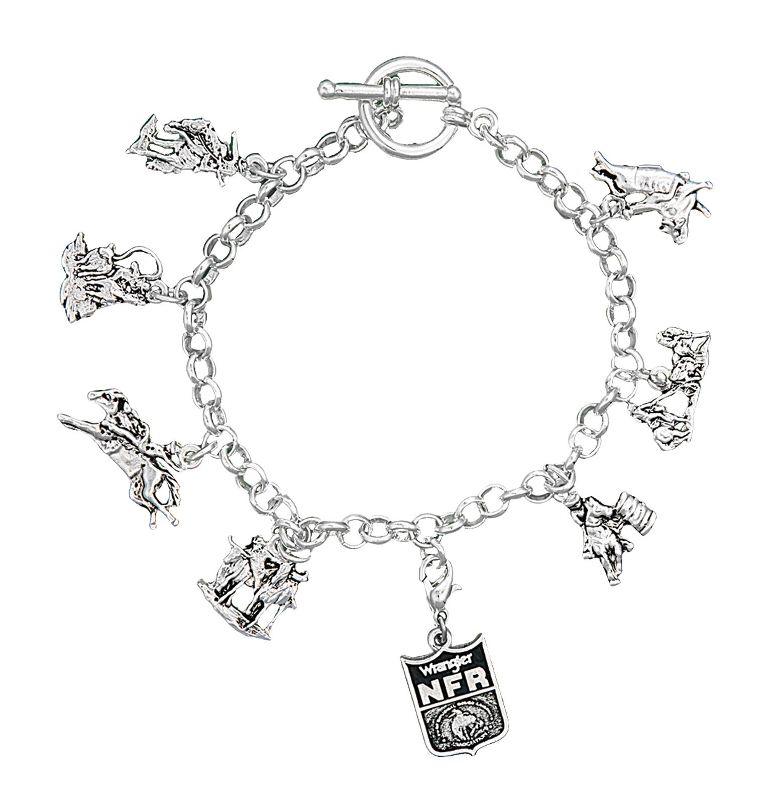Montana Silversmiths 2013 WNFR Charm Bracelet