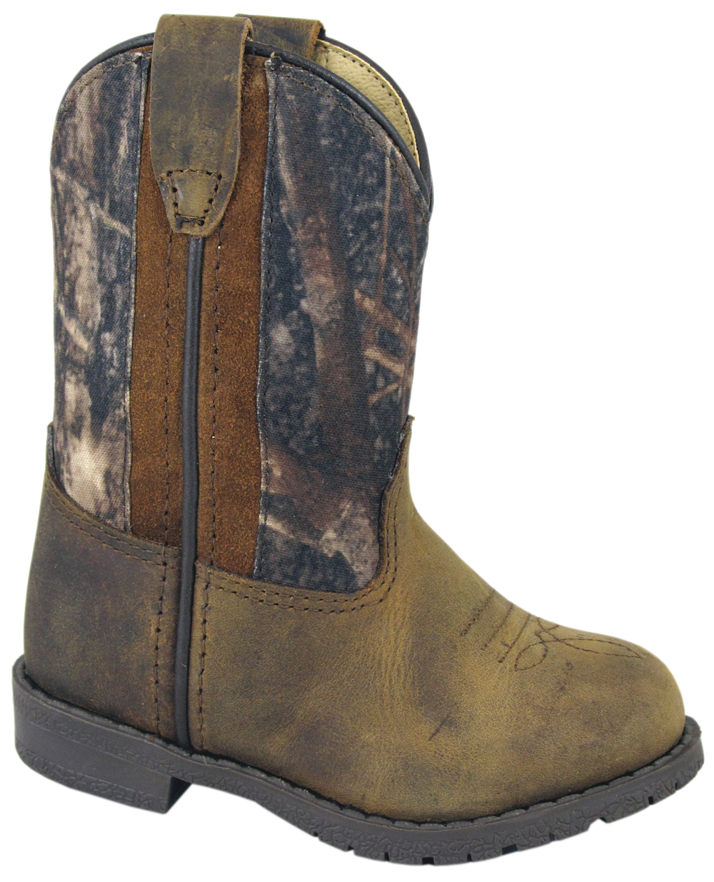 Smoky Mountain Toddler's Camo Hopalong Leather Boots