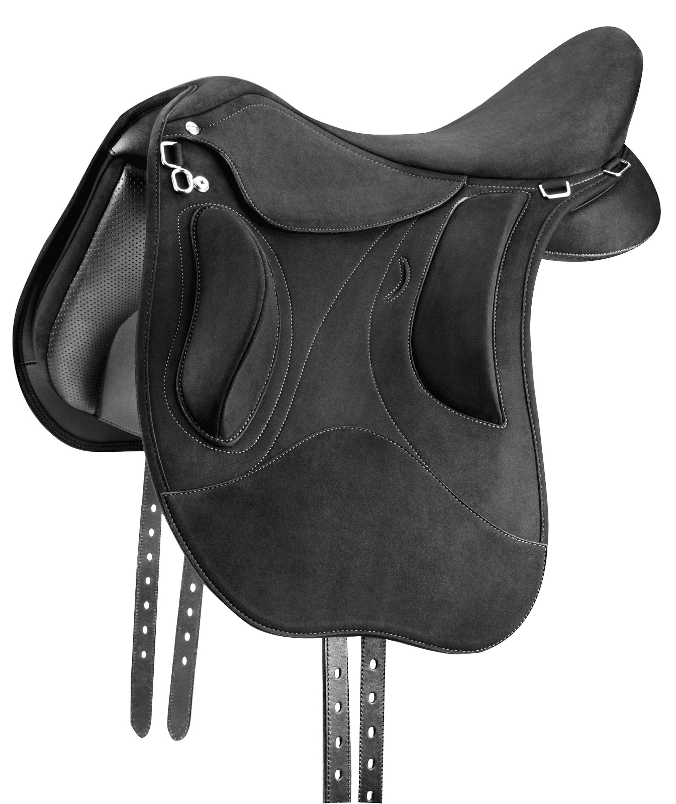 Wintec Pro Endurance Saddle With Flexicontourbloc - Flocked