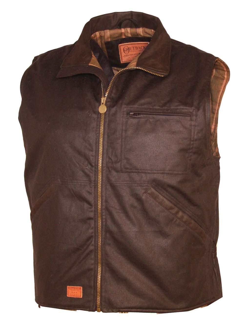 Outback Oilskin Men's Sawbuck Vest