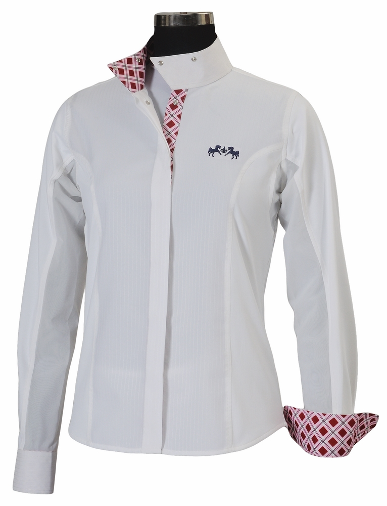 Equine Couture Jenna Show Shirt Ladies L/S