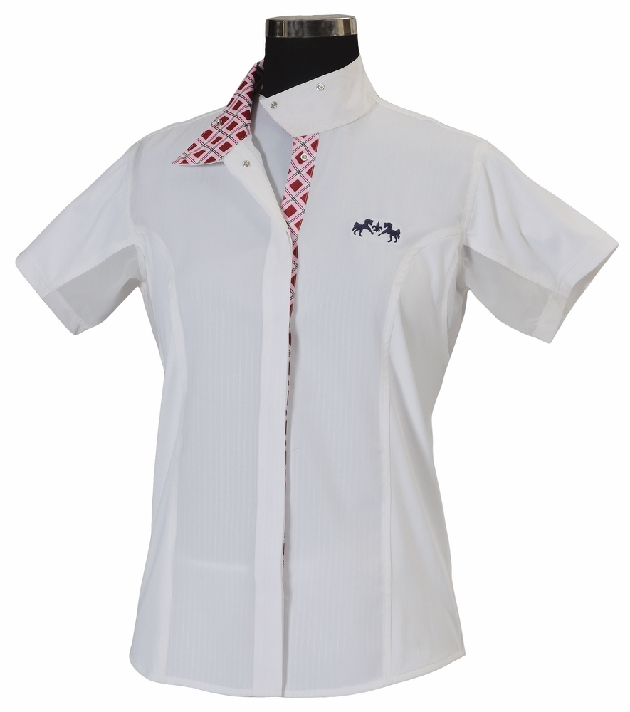Equine Couture Jenna Show Shirt Ladies S/S