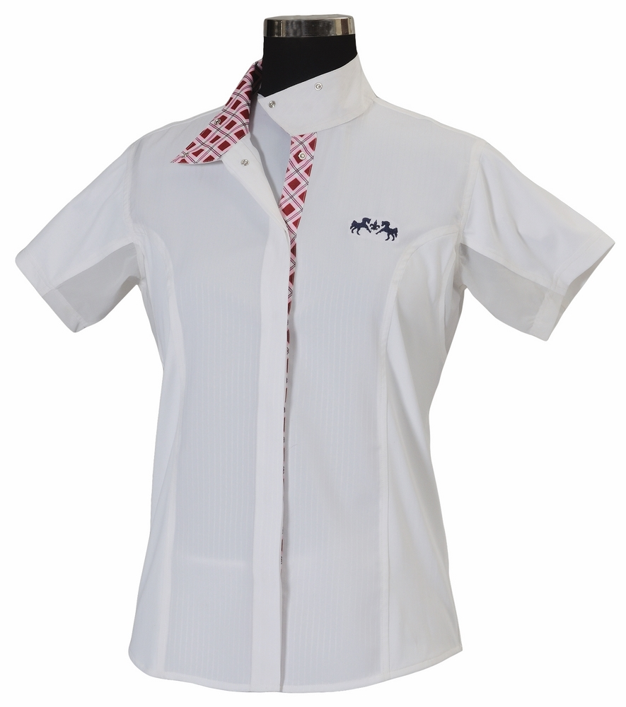 Equine Couture Jenna Short Sleeve Show Shirt Child