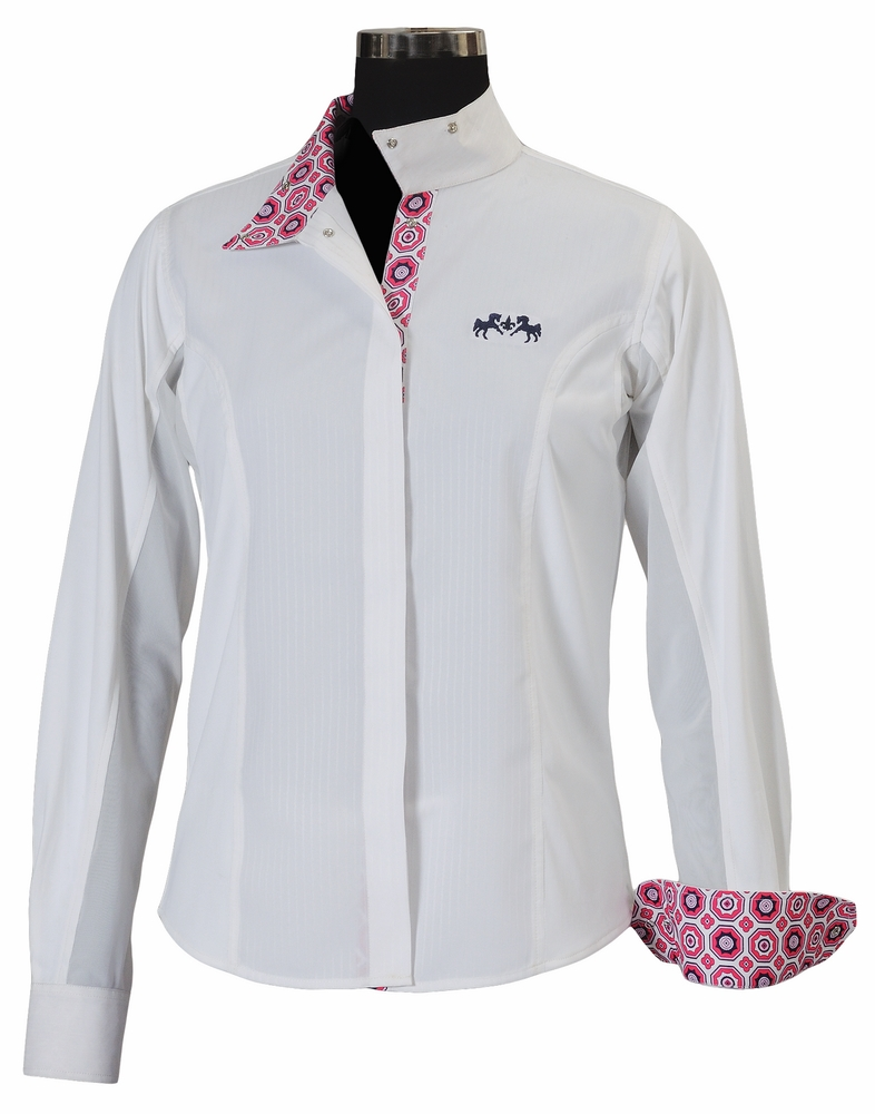 Equine Couture Kelsey Show Shirt Ladies L/S