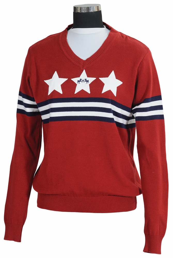Equine Couture Stars & Stripes Sweater Ladies