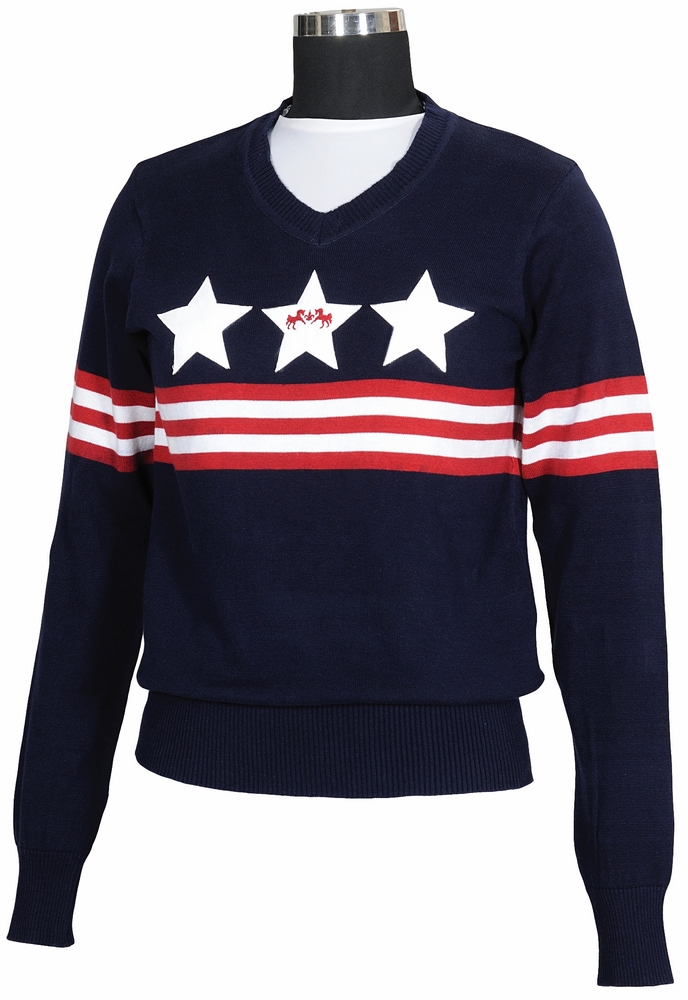 Equine Couture Stars & Stripes Sweater Child