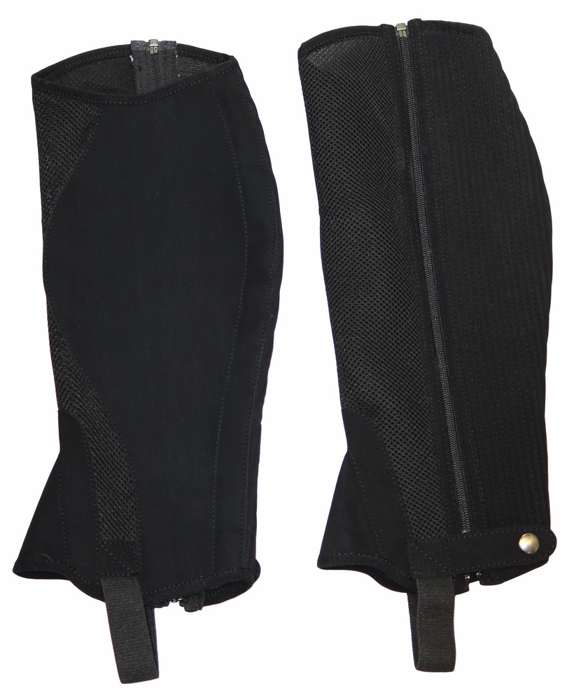 TuffRider Airflow Synthetic Half Chaps Adult