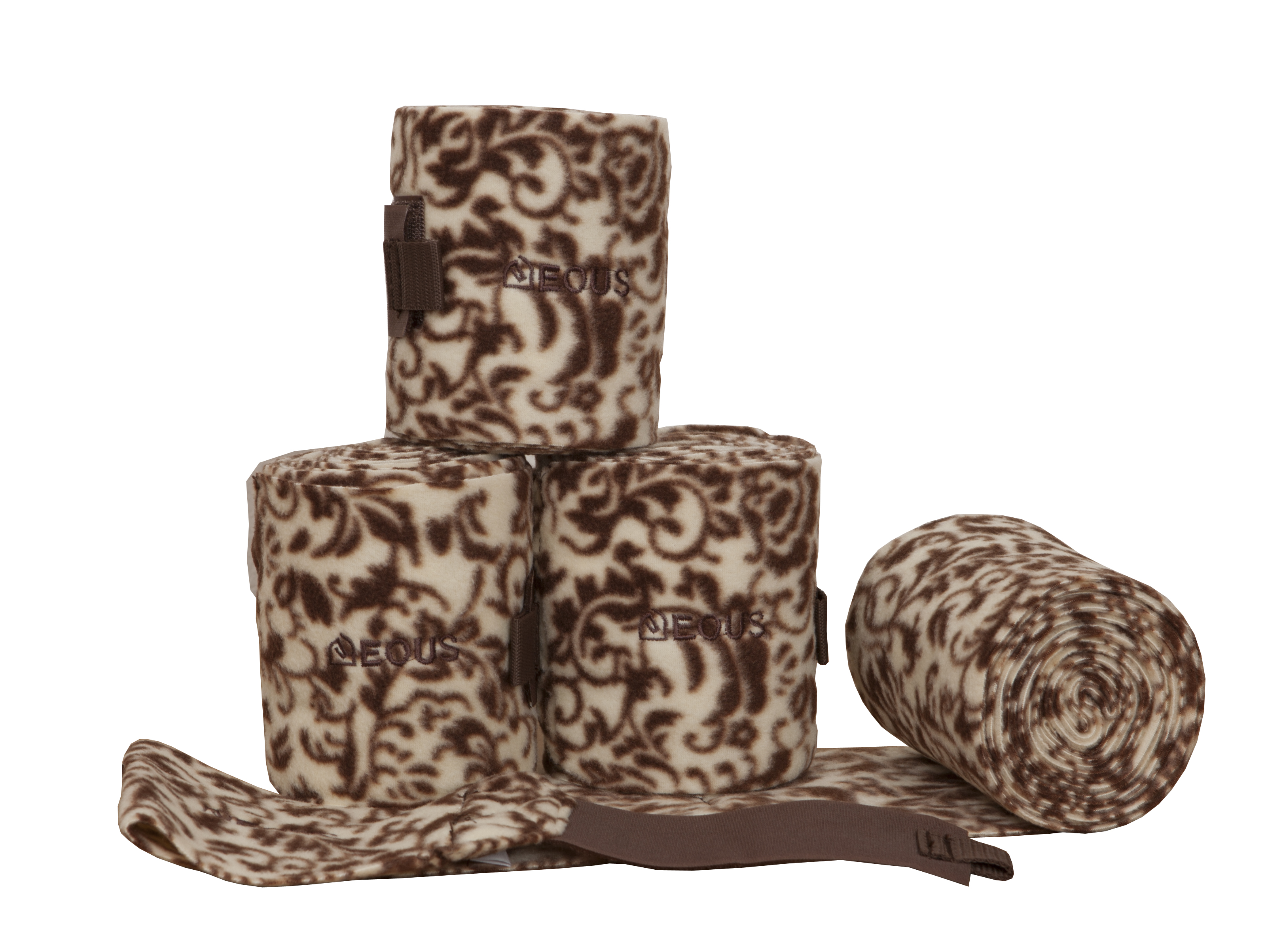 EOUS Polo Wraps - Brown Floral