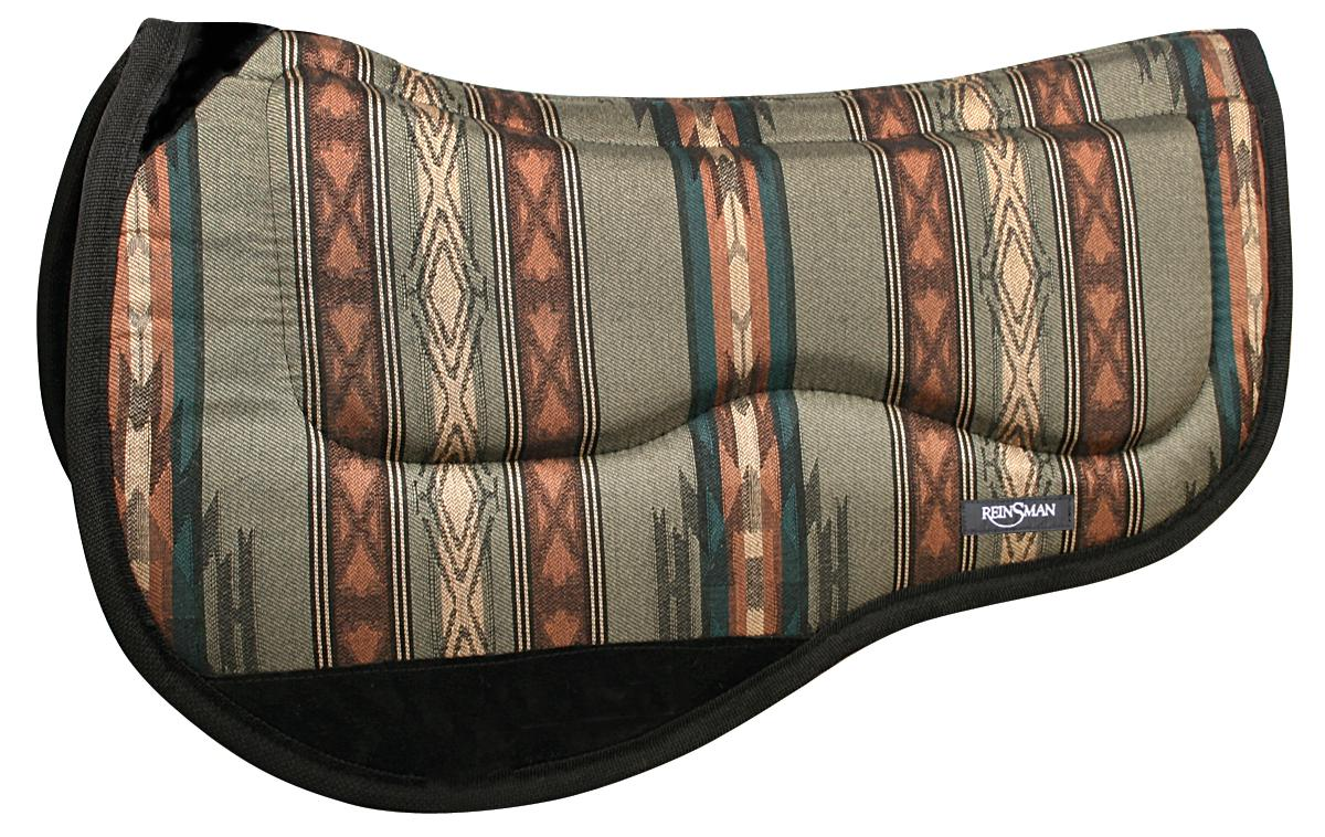 REINSMAN M2 Lite Trail Herculon Pad - Tacky Too - Dakota Plum Print