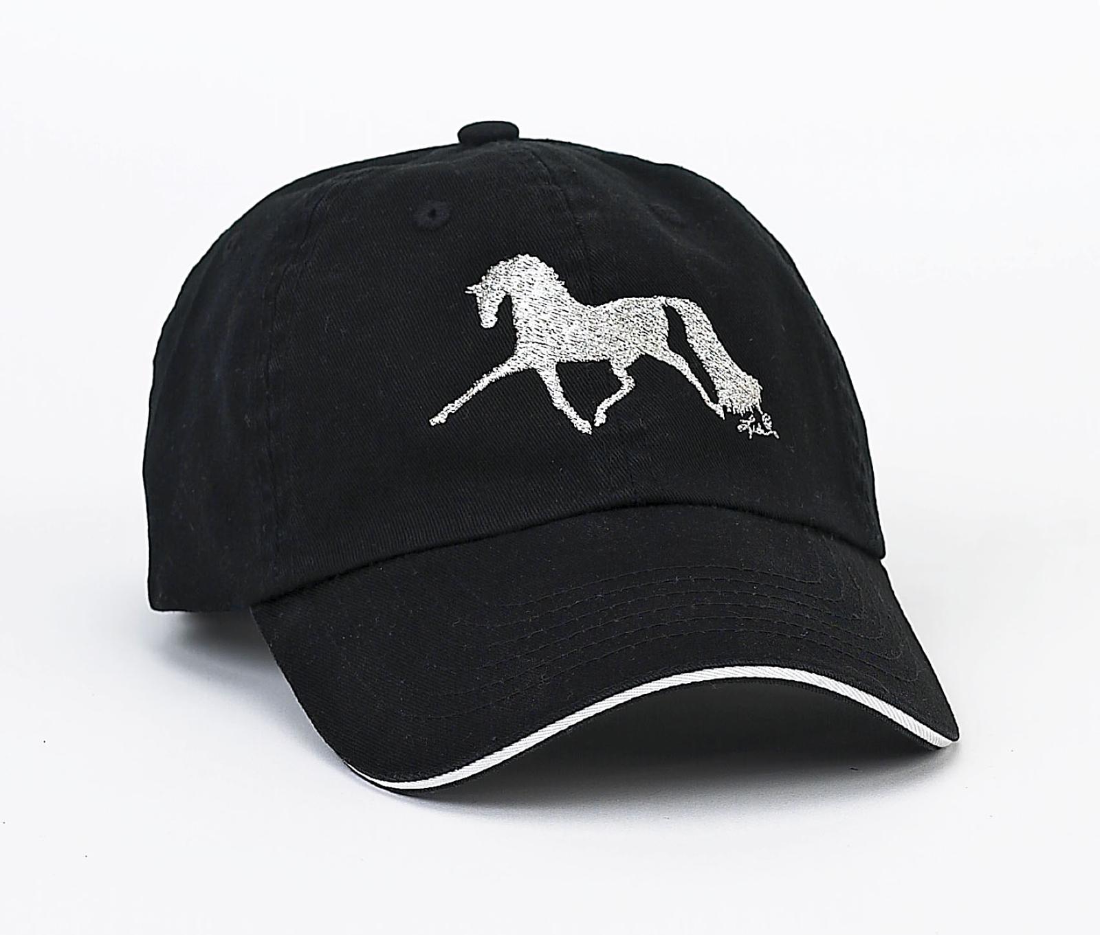 Rhinestone Dressage Horse Cap