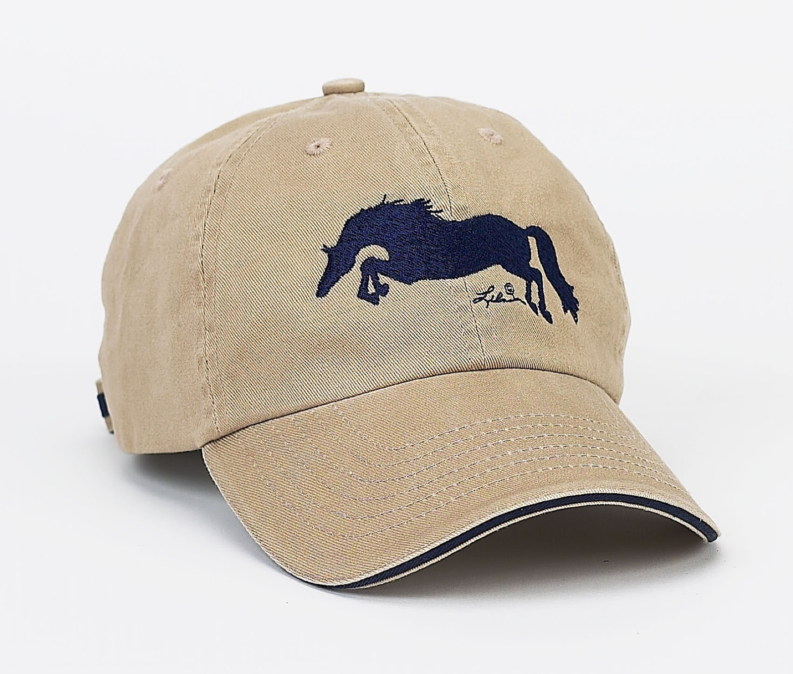 Lila Blakeslee Rhinestone Dressage Horse Cap