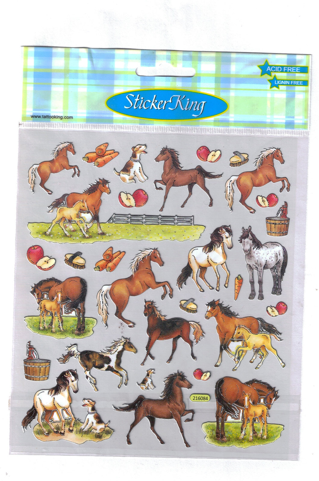Fun Horsey Stickers