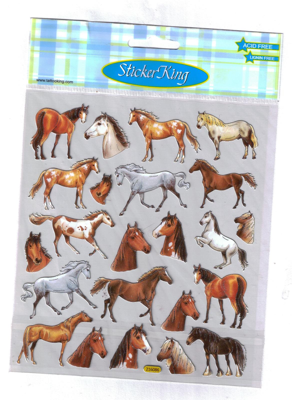Fun Horsey Stickers