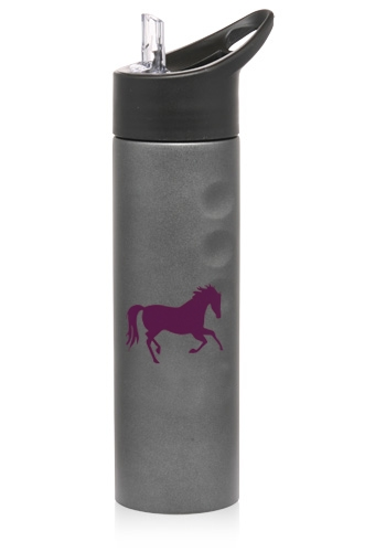 Stainless Flip-Top Sports Bottle