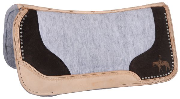 Tough-1 Felt Motif Saddle Pad - Western Pleasure