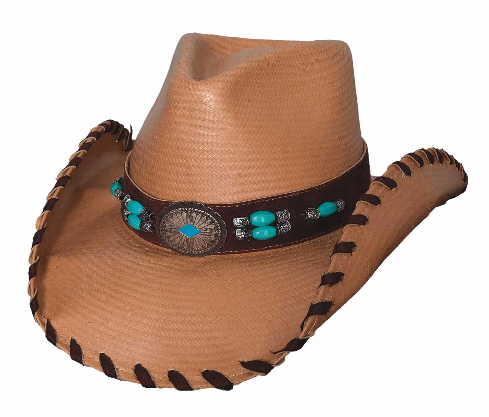 Bullhide Sedona Western Straw Hat