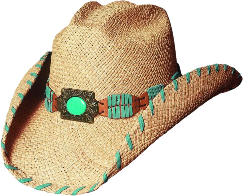 Bullhide Del Mar Western Straw Hat