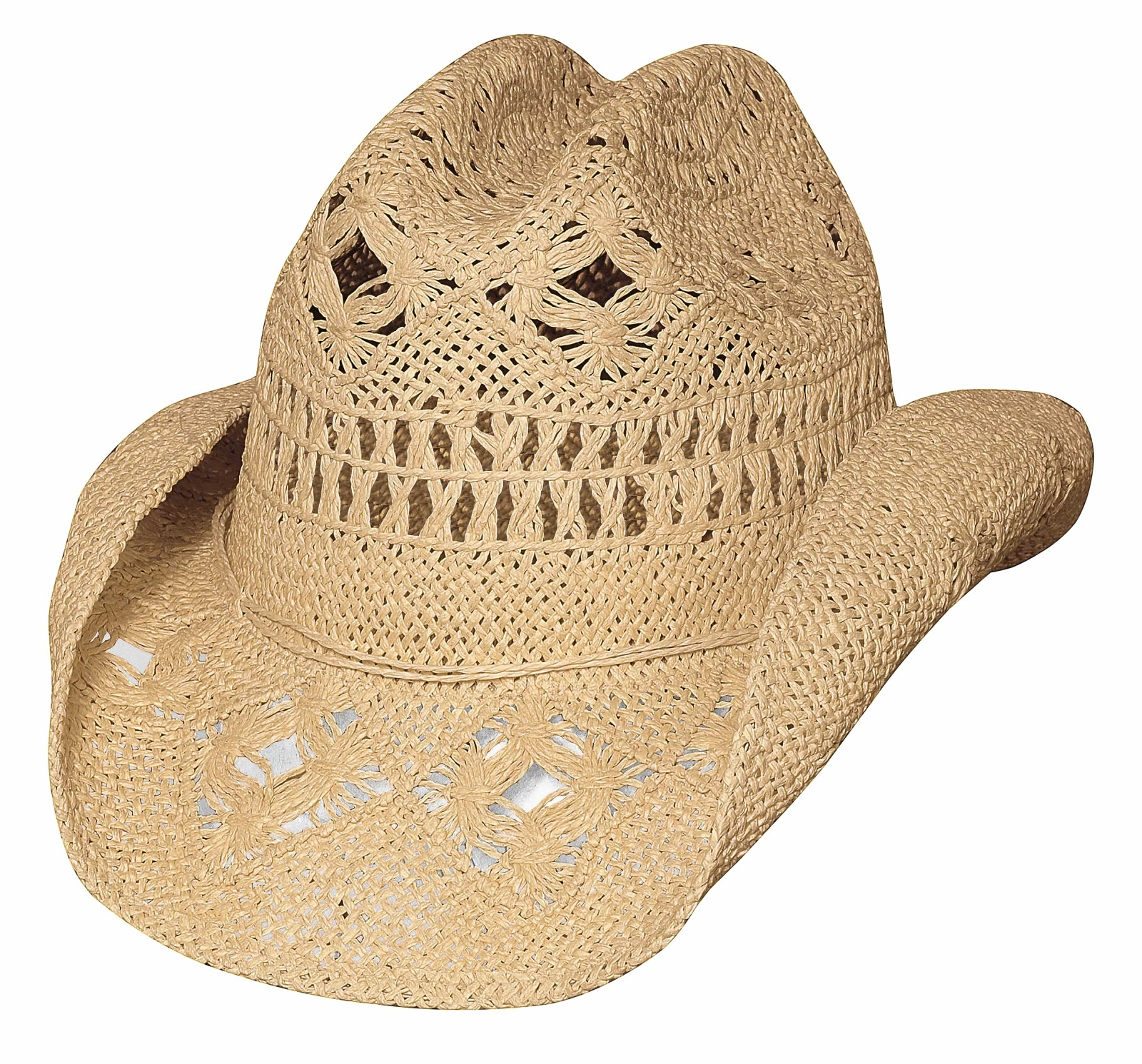 Bullhide Des Moines Run A Muck Collection Straw Hat