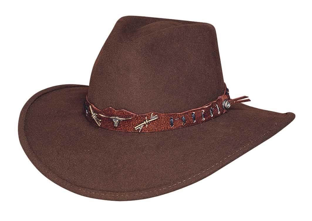 Bullhide Oak Ridge Outdoor Felt Collection Felt Hat