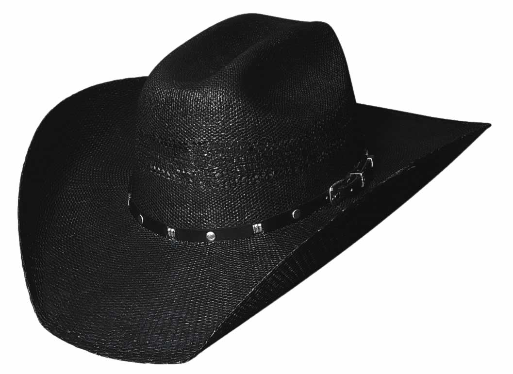Bullhide Black Arrow 20X Traditional Western Straw Hat