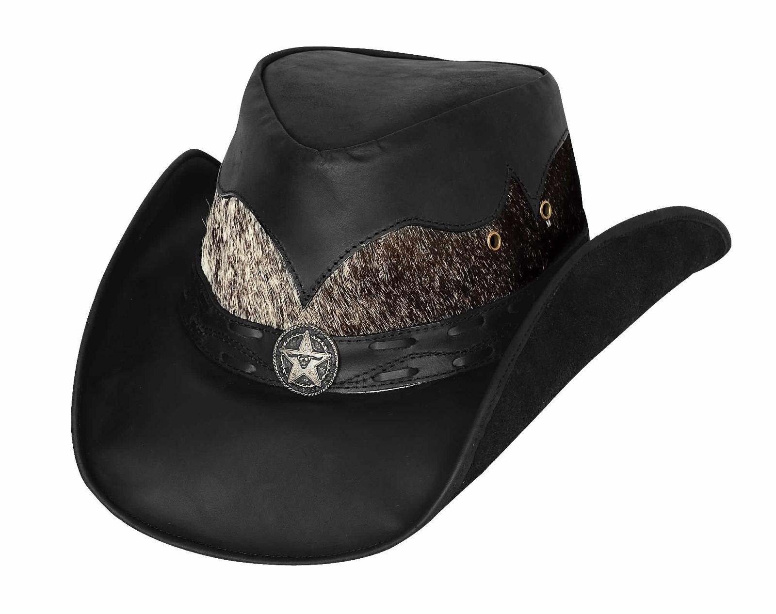 Bullhide Comanche Down Under Leather Hat