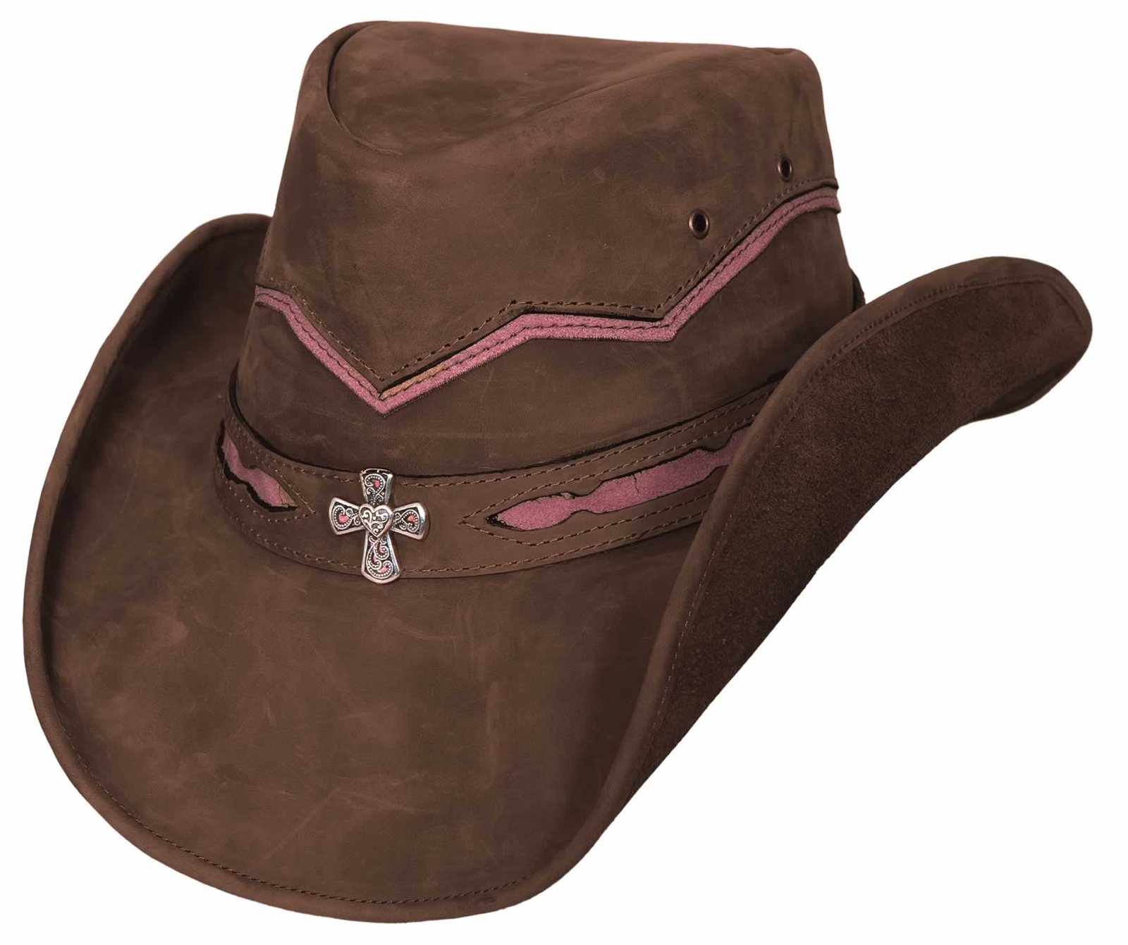 Bullhide Serenity Down Under Leather Hat