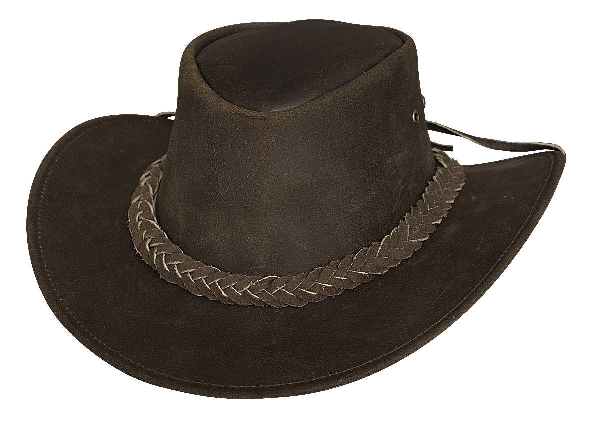 Bullhide Cedar Groove Jr. Youth Leather Hat