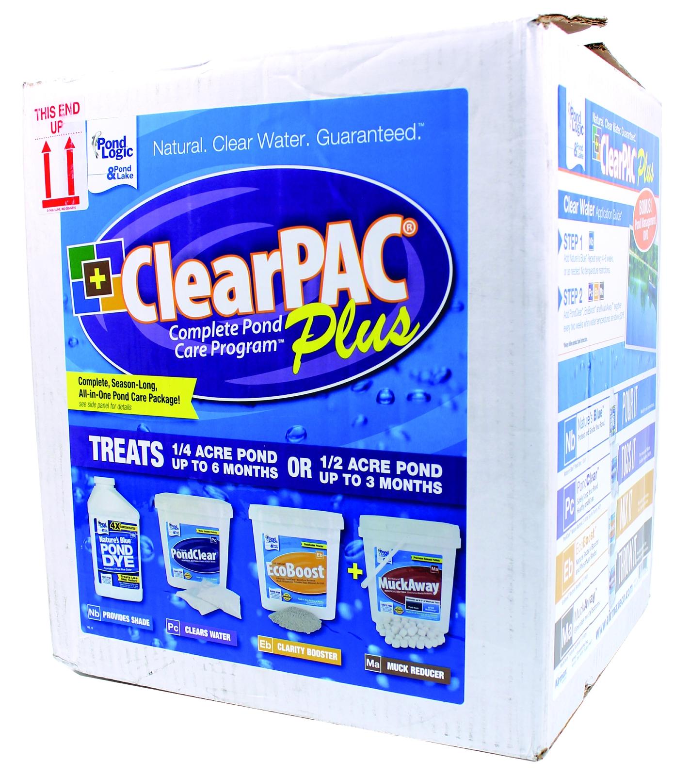 Clearpac Plus Pond Care Program