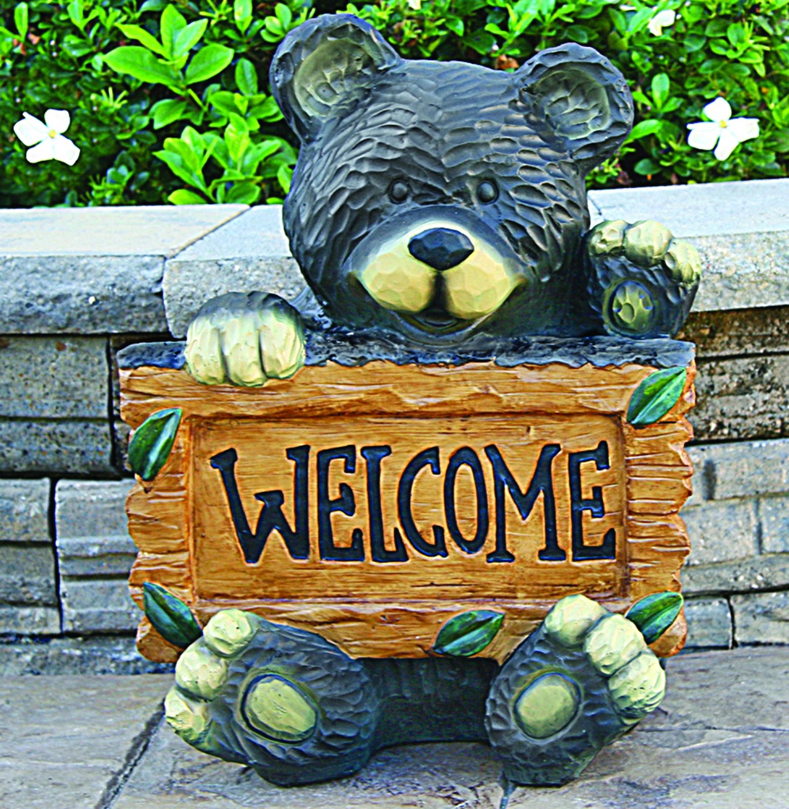 Welcome Bear Statuary