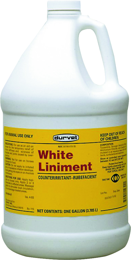 Durvet White Liniment Gl* 4