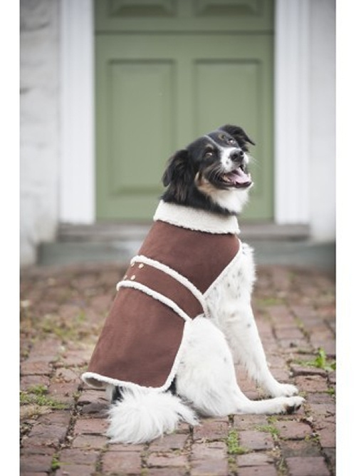 Outdoor Dog Shearling Dog Coat