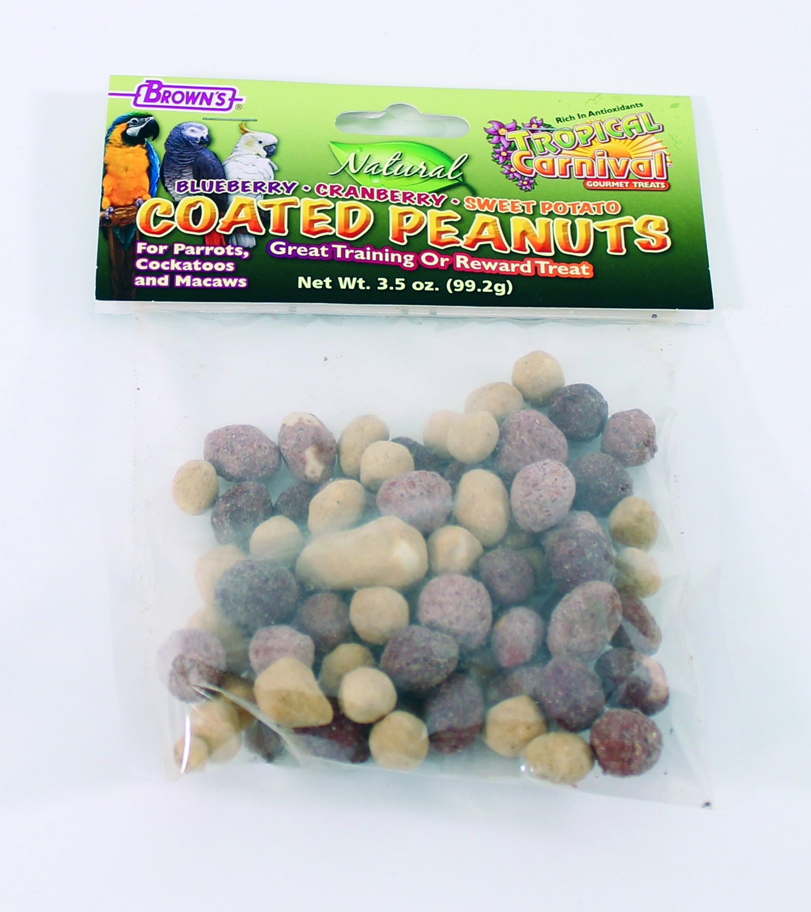 Brown's Tropical Carnival Coated Peanuts