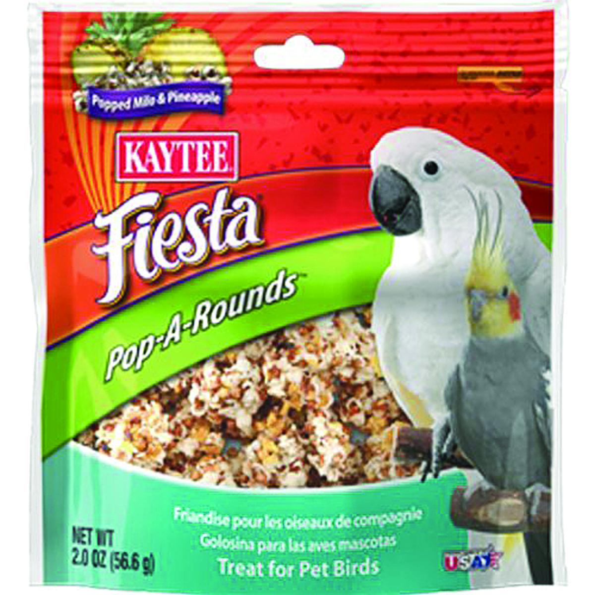 Kaytee Fiesta Pop-A-Rounds Treat - Pet Birds