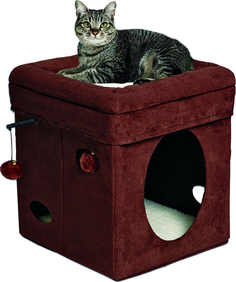 Feline Nuvo Curious Cat Cube