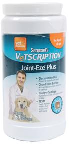 Sergeants Vetscription Joint-Eze Plus Dog Supplement