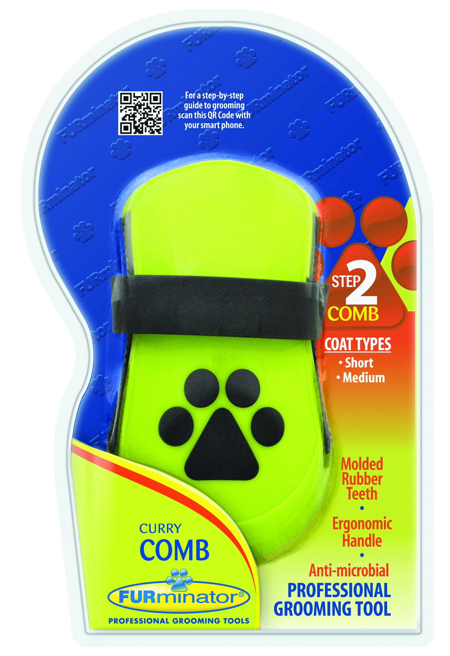 Furminator Furminator Curry Comb For Dogs