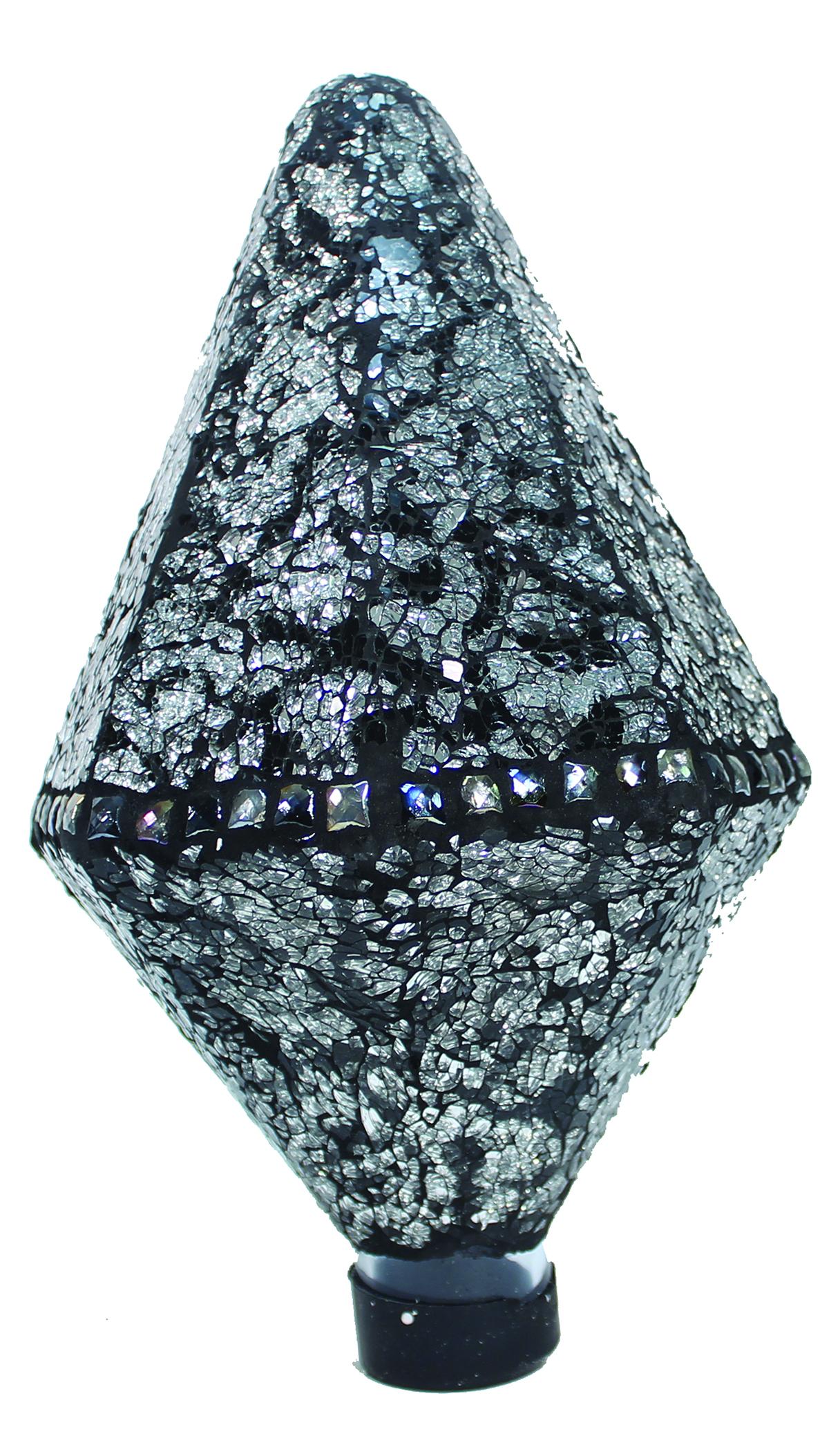 Mosaic Diamond Glass Gazing Globe