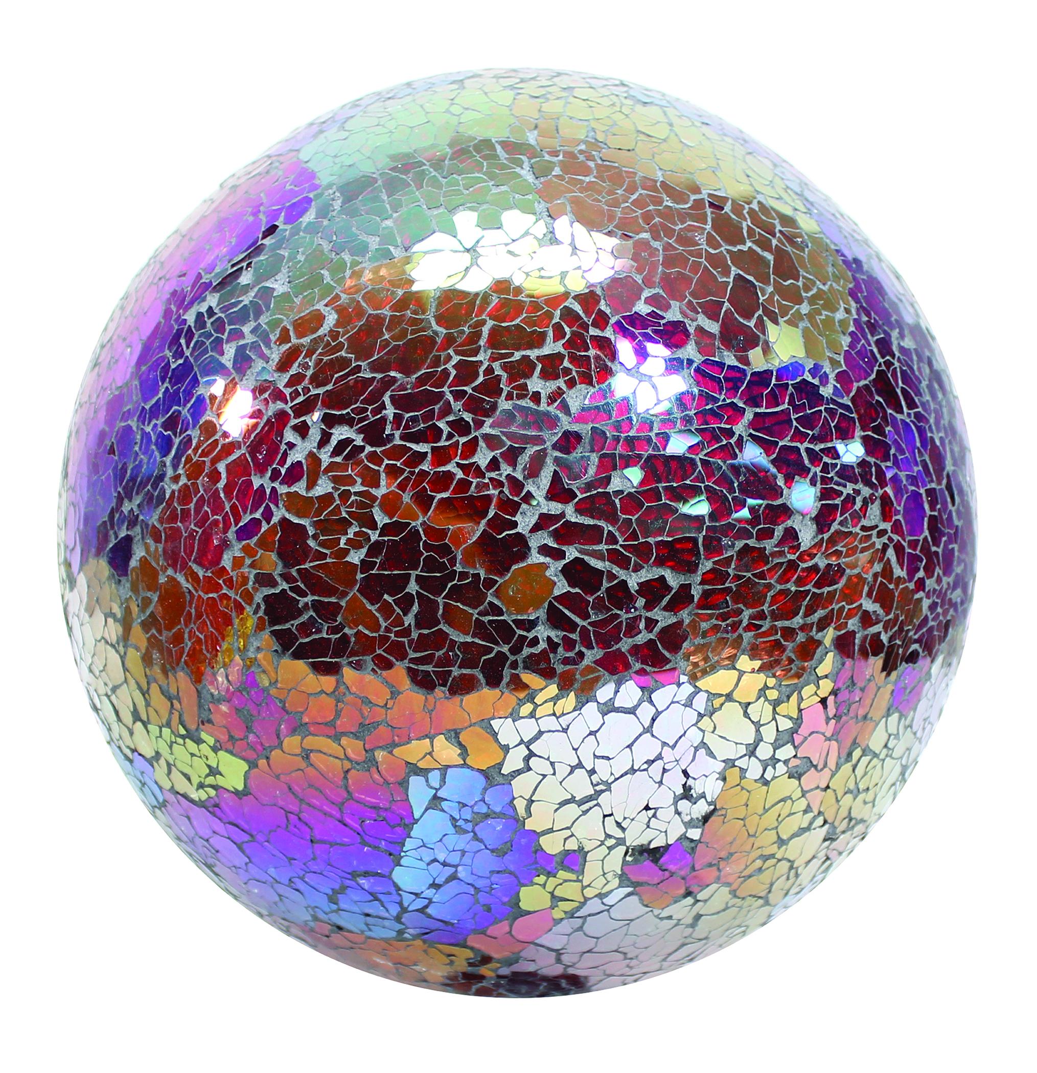 Mosaic Glass Gazing Globe
