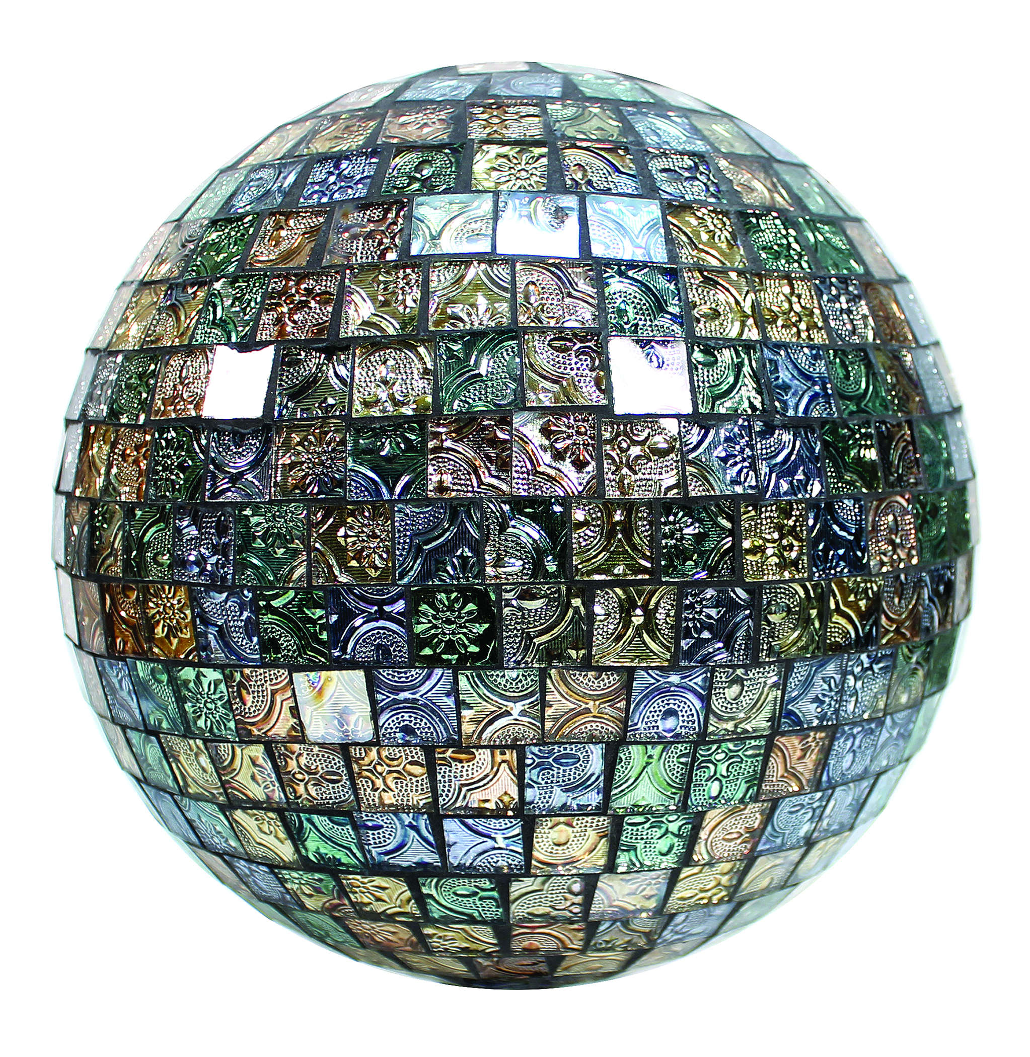 Mosaic Glass Tile Gazing Globe