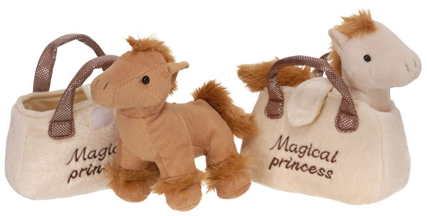 Gift Corral Plush Horse In Purse