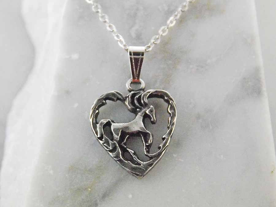 Finishing Touch Standing Horse in Heart