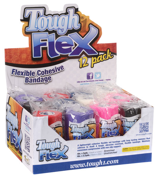 Tough-1 Tough Flex Vet Bandage - 12 Pack